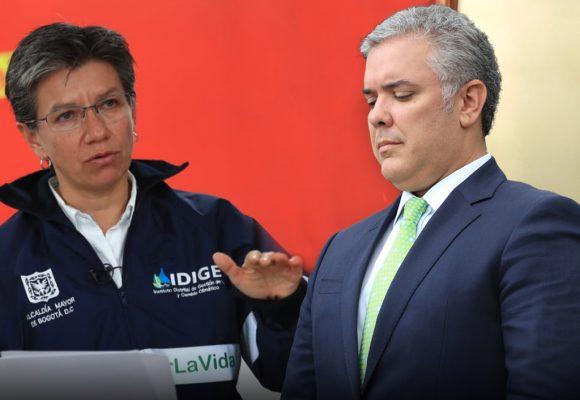 El ataque de Claudia López a Iván Duque para salvar vidas en Bogotá