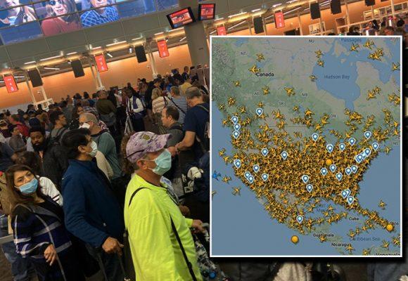 Los 5 aeropuertos gringos más congestionados en pleno coronavirus