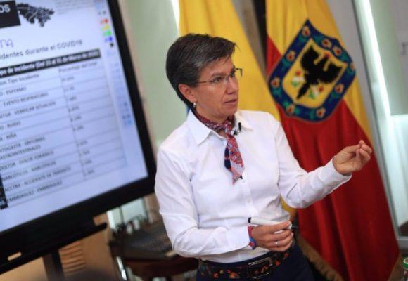 Los $6.000 millones d Claudia López en publicidad contra el COVID-19