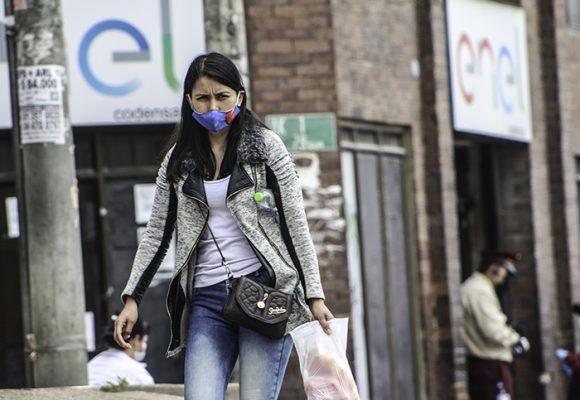 Casos de Coronavirus por localidades en Bogotá