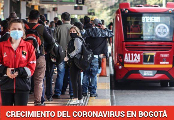 Bogotá, con mayor cantidad de contagios ¿Dónde están los casos?