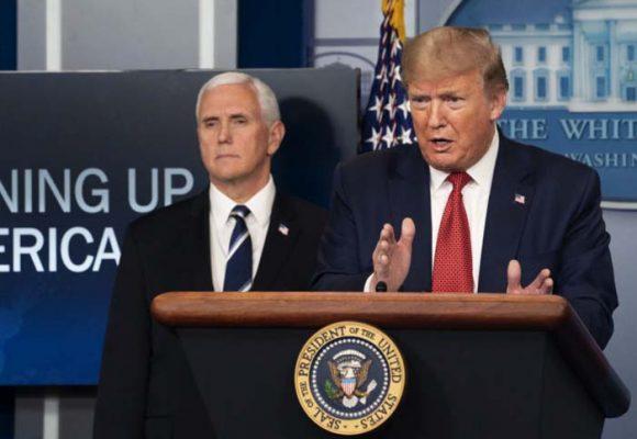 La gestión del coronavirus baja el favoritismo de Trump en las encuestas