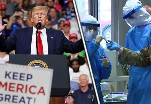 Planes electorales de Trump quedaron patasarriba