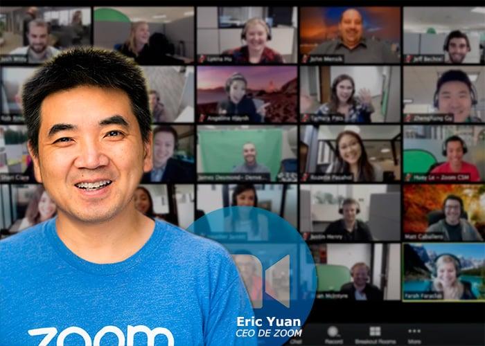El chino creador de Zoom al que le negaron 9 veces la visa gringa