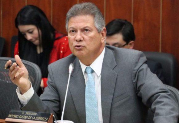 Golpe al patrimonio del exsenador Antonio Guerra de la Espriella