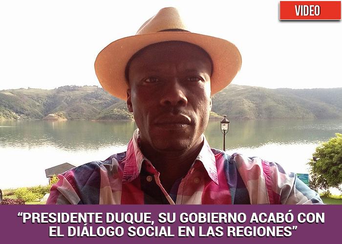 Otro líder, Hugo Giraldo, acaba de ser asesinado en el Cauca. ¿Qué es lo que pasa?