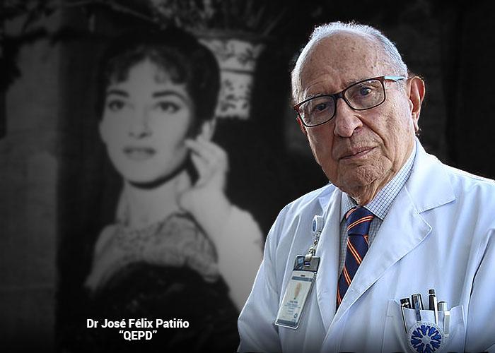 La afición desconocida del Doctor José Felix Patiño