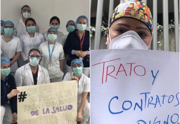 La realidad de los medicos y otros profesionales en salud del país