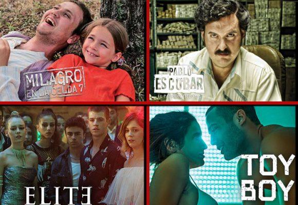 Las 10 series y películas de Netflix más vistas en la cuarentena
