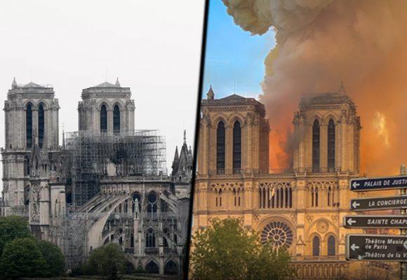 La lenta recuperación de Notre-Dame en medio del confinamiento