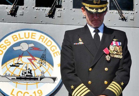 La echada del capitán del Roosevelt le costó el puesto al comandante de la Armada Gringa