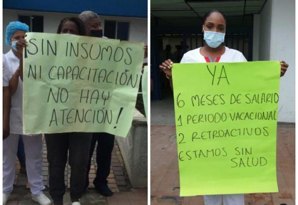 Sin salario ni protección, enfermeras atenderían contagidos de COVID-19 en el Chocó