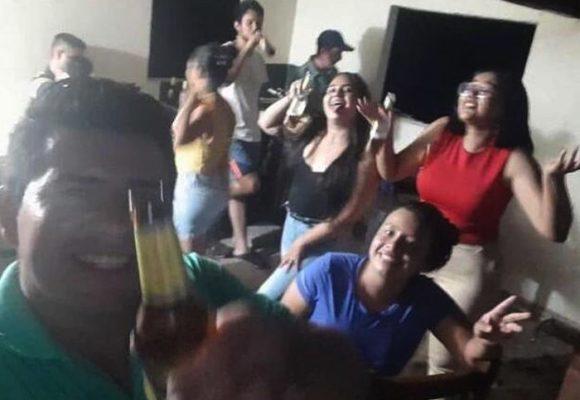 Trago y baile hasta el amanecer: la rumbota que armaron funcionarios de hospital en Santander