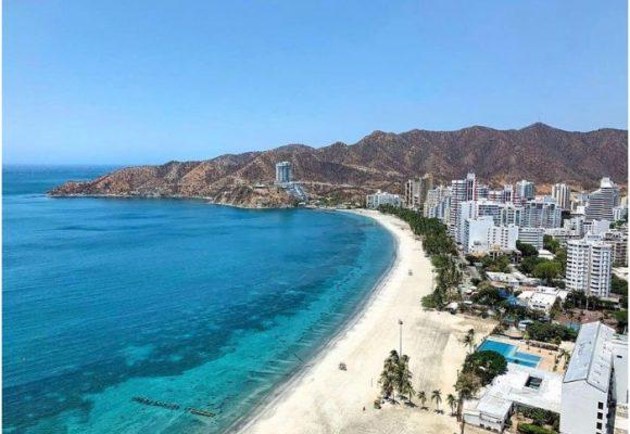 Los impactos del COVID-19 en las playas de Santa Marta y Cartagena