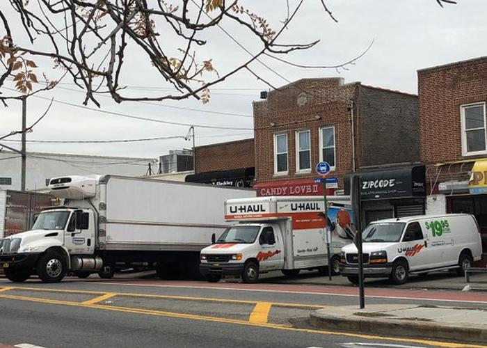 Encontraron camiones llenos de muertos en Nueva York