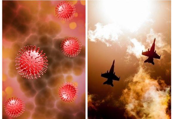 Virus y guerra para el mal morir