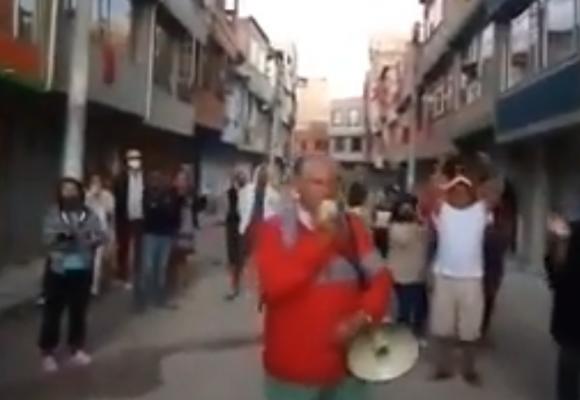 Ya hay hambre y desesperación en Suba. Video