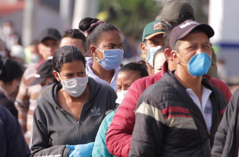 Les prohiben a los venezolanos entrar a plazas de mercado en Bogotá. Video