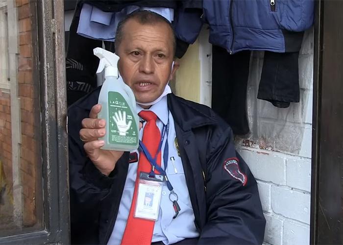 Ser guardia de seguridad en medio de la cuarentena en Colombia