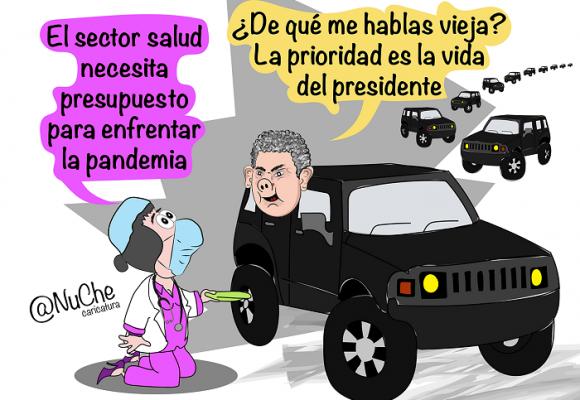 Caricatura: El gobierno de la