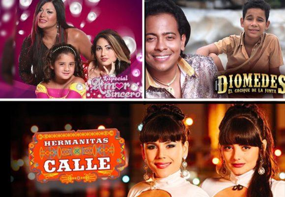 Las 10 bionovelas más vistas de la tv colombiana