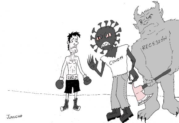 Caricatura: 2020, una historia de horror