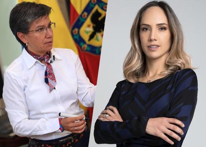 Destrozan a Camila Zuluaga por defender a Claudia López