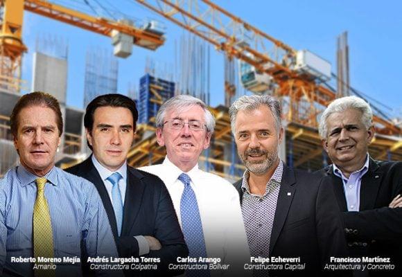 Las 5 grandes constructoras listas a empezar a trabajar