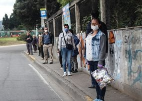 Colombia supera los 1000 contagiados por coronavirus