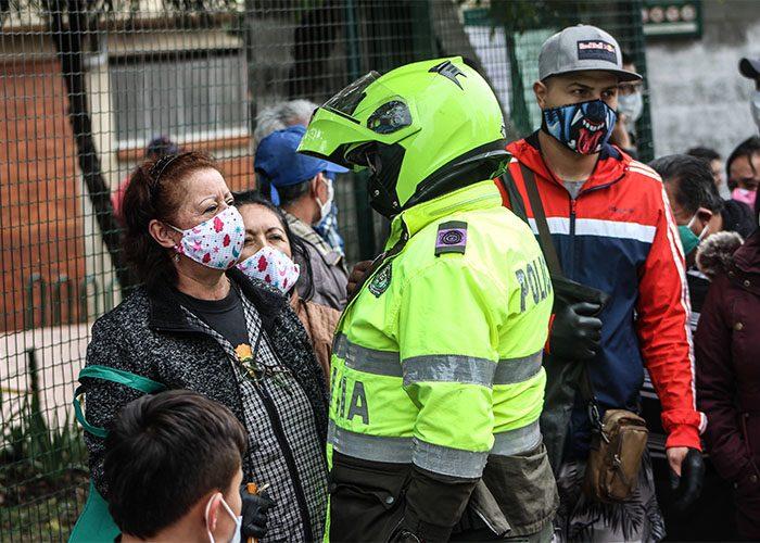 Cuarentena en Bogotá, Coronavirus. Foto: Leonel Cordero