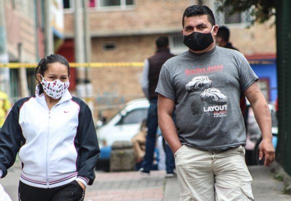 201 nuevos casos de contagio y 5 muertes más por coronavirus en Colombia