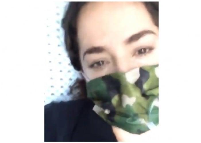El drama de Danna García por padecer COVID-19