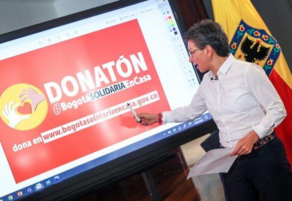 """Donatón Bogotá: hasta la """"solidaridad"""" se centraliza en medio de la pandemia"""