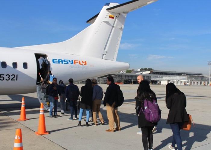Easyfly reactivaría operación en mayo al 30%