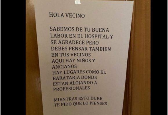 INDIGNANTE: Vecinos piden a médico que se vaya a vivir a hotel