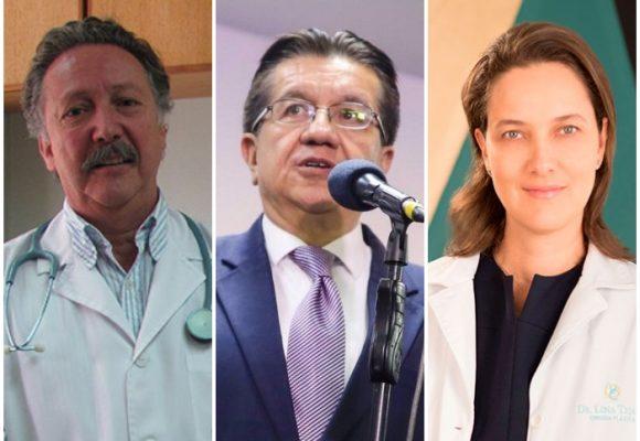 Ministro de Salud sin el apoyo de los médicos para afrontar al COVID-19