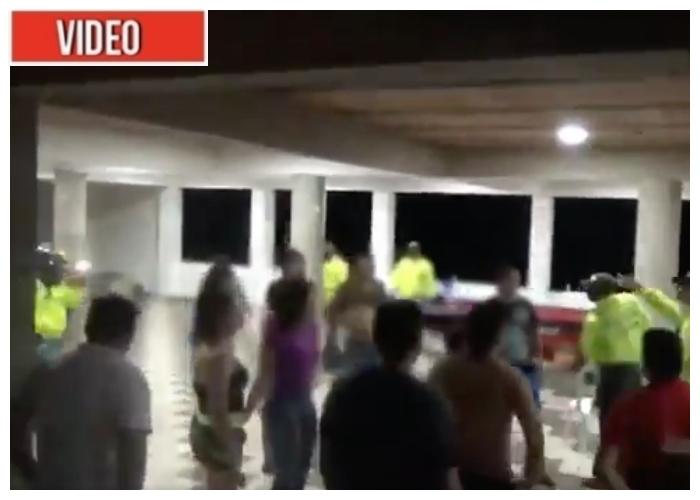 VIDEO: El operativo que acabó con la rumba sexual en Villavicencio