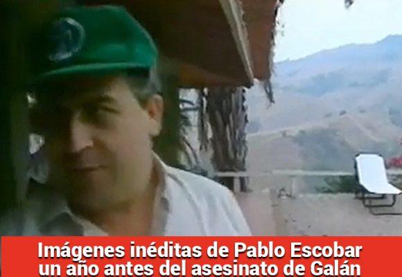 El capo relajado en un cómodo escondite cerca de Medellin