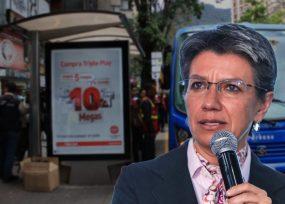 Claudia López lista a entregar cuestionada licitación de paraderos de buses