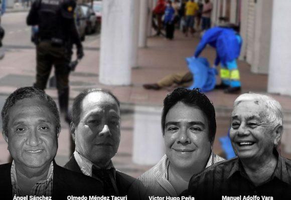 Los cuatro periodistas ecuatorianos que murieron informando