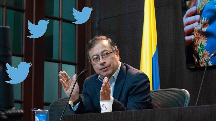 Petro y el Twitter