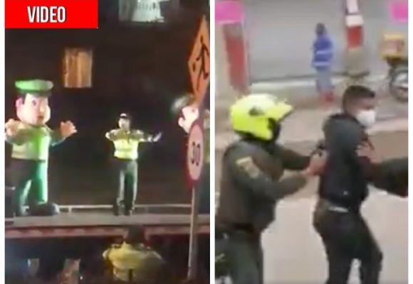 La hipocresía de la Policía: a los ricos baile, a los pobres bolillo