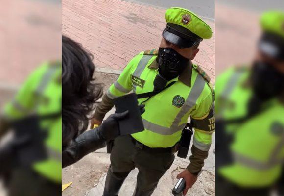 ¿Antipatía de la policía alborotada en tiempos de cuarentena?