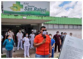 Renuncia masiva de médicos del hospital de Leticia