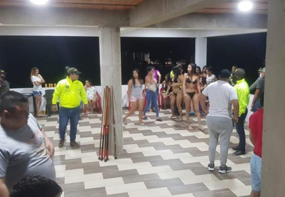 Rumba sexual: alcohol, drogas y prostitutas en plena cuarentena