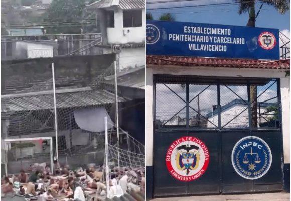 309 presos con COVID-19 en la cárcel de Villavicencio y la única medida es el garrote. VIDEO