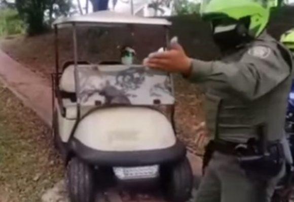 Los golfistas que madrearon a la policía y violaron la cuarentena