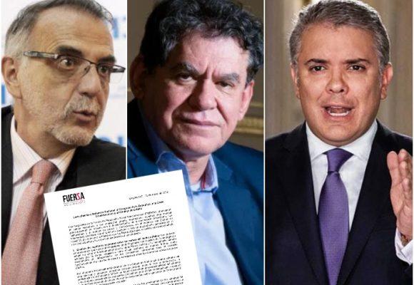 Iván Velásquez, León Valencia y el grupo Fuersa en alerta por el superpoder presidencial