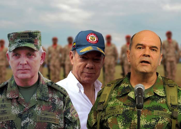 Las chuzadas que Santos aprovechó para depurar las FF.MM.
