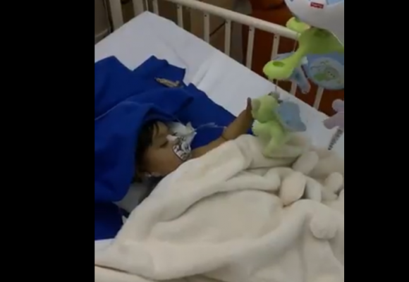 VIDEO: La milagrosa recuperación de Aleia, la hija del alcalde de Medellín